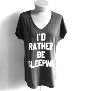 I'd Rather Be Sleeping Graphic t shirt